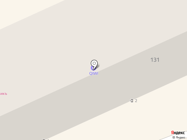 Наша ветка на карте Армавира