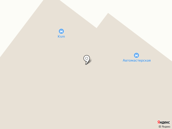 Автомастерская на карте Кохмы