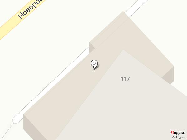 ЮГ-Инвестбанк на карте Армавира