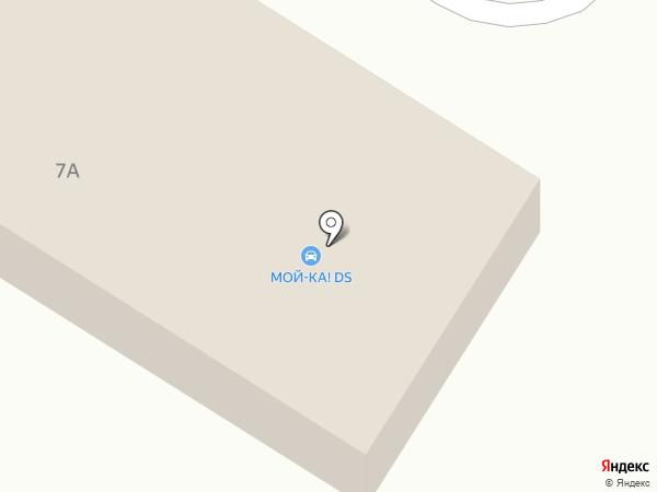 Автомойка на карте Кохмы