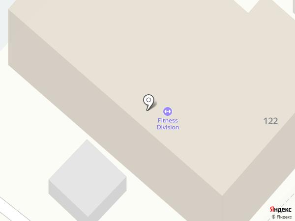 FITNESS DIVISION на карте Армавира
