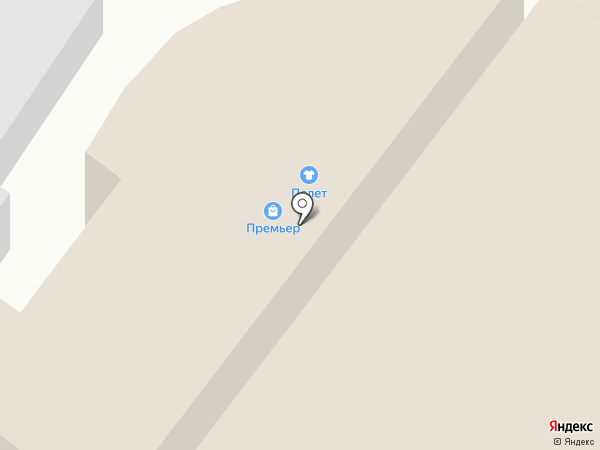 Фортуна на карте Армавира