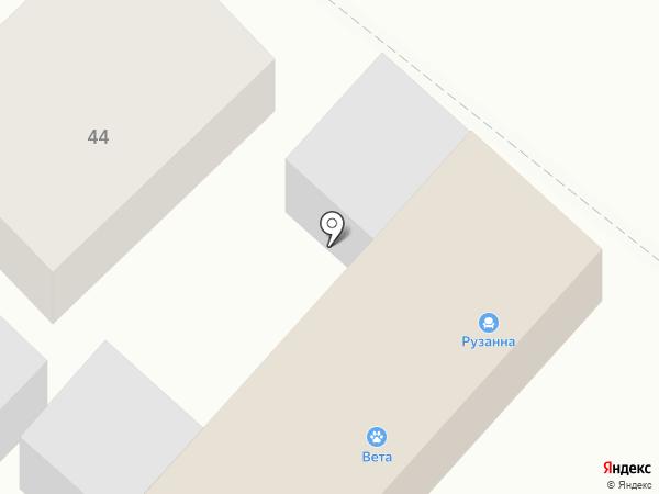 Рузанна на карте Армавира
