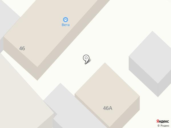 Цех по производству тротуарной плитки на карте Армавира