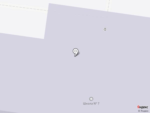 Средняя общеобразовательная школа №7 на карте Кохмы