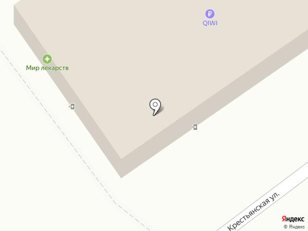 Магазин хозяйственных товаров на Почтовой на карте Кохмы