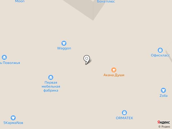 Waggon на карте Армавира