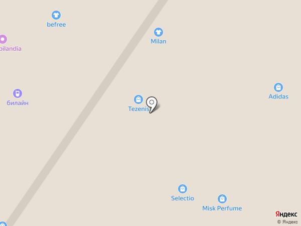 TEZENIS на карте Армавира