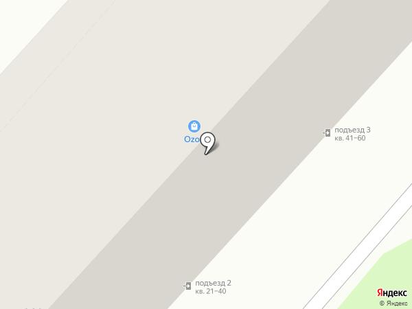 MART на карте Армавира