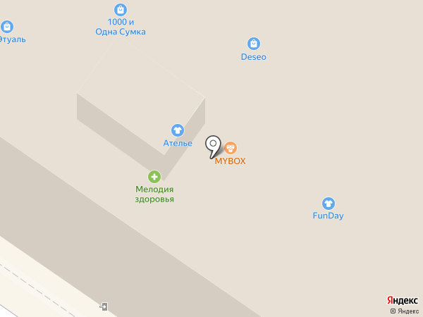 Ателье-мастерская на карте Армавира