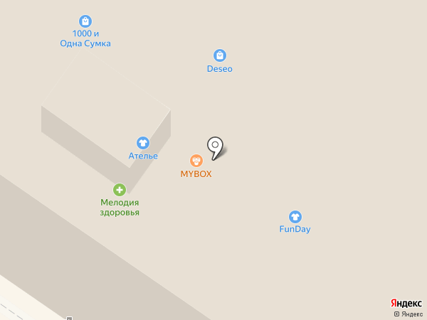 Mybox на карте Армавира