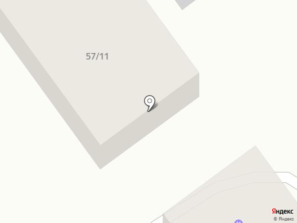 Юралл на карте Армавира