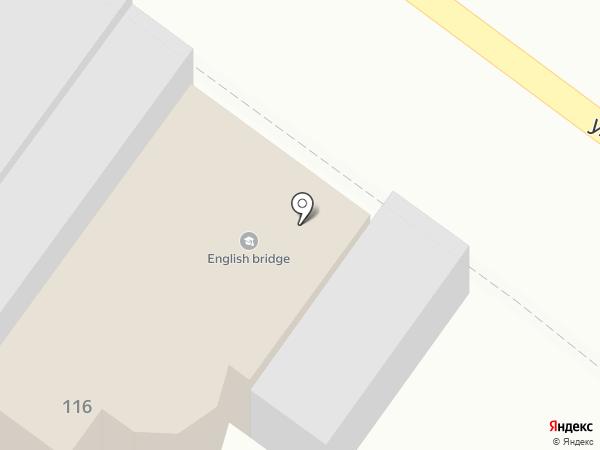 Сауна на ул. Советской Армии, 116 на карте Армавира