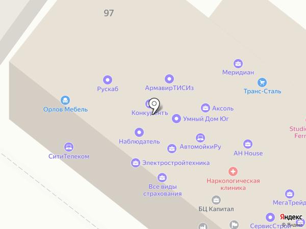 Тендер-Профи на карте Армавира