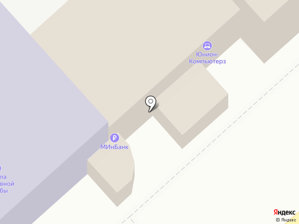 Банкомат, Минбанк, ПАО на карте Армавира