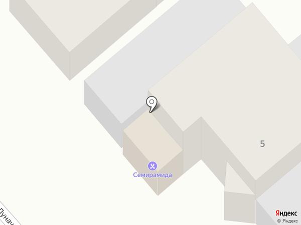 Семирамида на карте Армавира