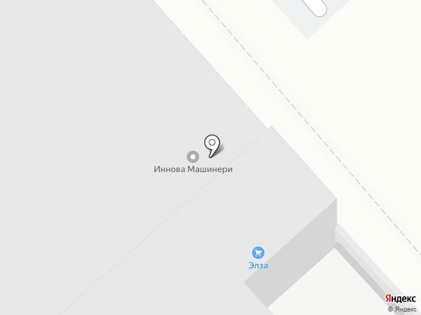 Элза на карте Армавира