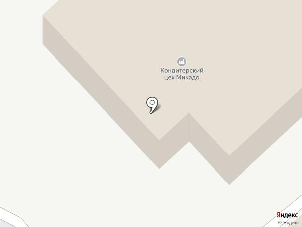 Микадо на карте Армавира