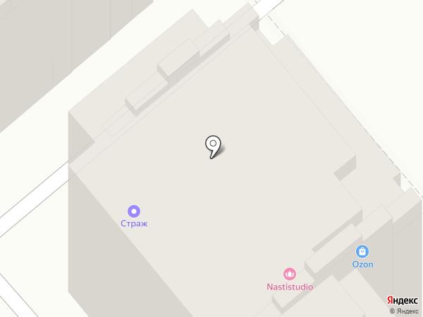 Башмачок на карте Армавира