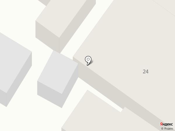 Продуктовый магазин на ул. Шаумяна на карте Армавира