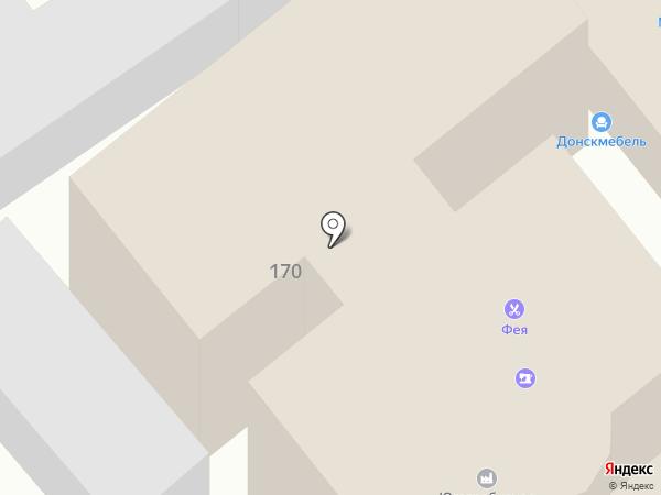 Копи-принт на карте Армавира