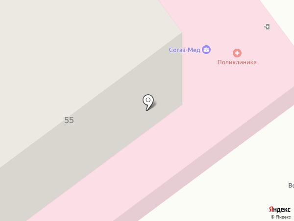 Поликлиника на карте Кохмы