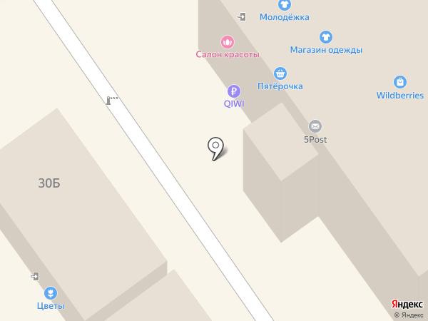 Ось на карте Кохмы