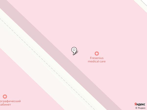 Диализный центр на карте Армавира