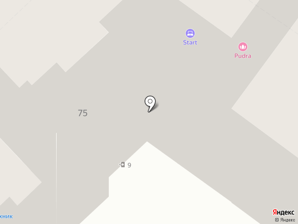 Юный Техник на карте Армавира