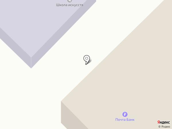 Администрация Никольского сельского поселения на карте Никольского