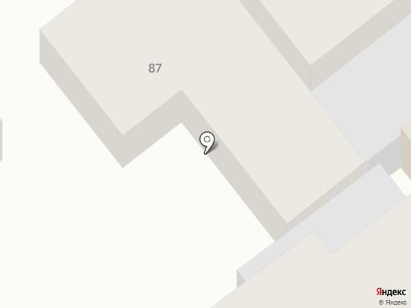 Находка на карте Армавира