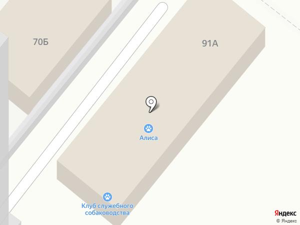 Алиса на карте Армавира