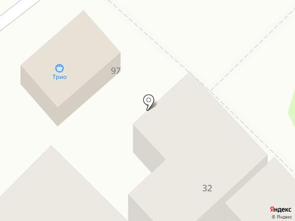 Трио на карте Армавира