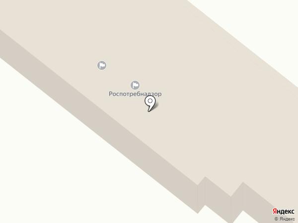 Территориальный отдел Управления Федеральной службы по надзору в сфере защиты прав потребителей и благополучия человека по Краснодарскому краю в г. Армавире, Успенском, Новокубанском на карте Армавира