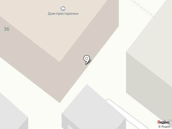 Дом-интернат для престарелых и инвалидов на карте Армавира
