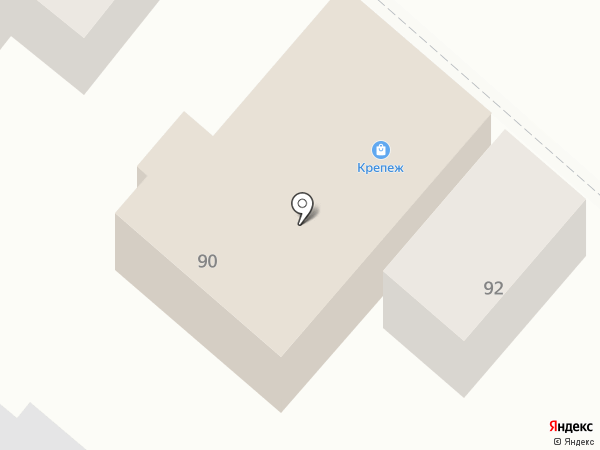 Крепеж на карте Армавира