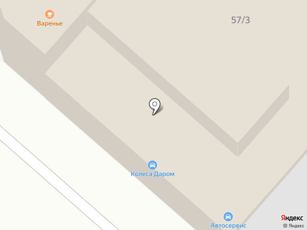 Полиарк на карте Армавира