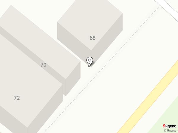 ГАРАЖ на карте Армавира