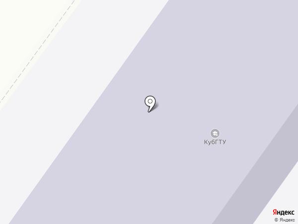 Армавирский механико-технологический институт на карте Армавира