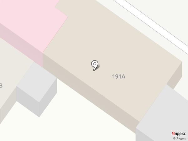 Армавир-Зооветснаб на карте Армавира