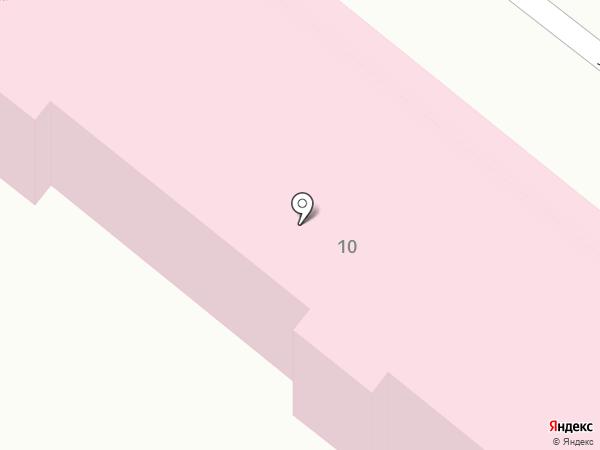 Узловая железнодорожная поликлиника на карте Армавира