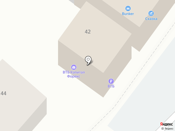 Банк ВТБ24 на карте Армавира