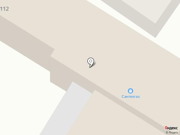 Сантехгаз на карте Армавира