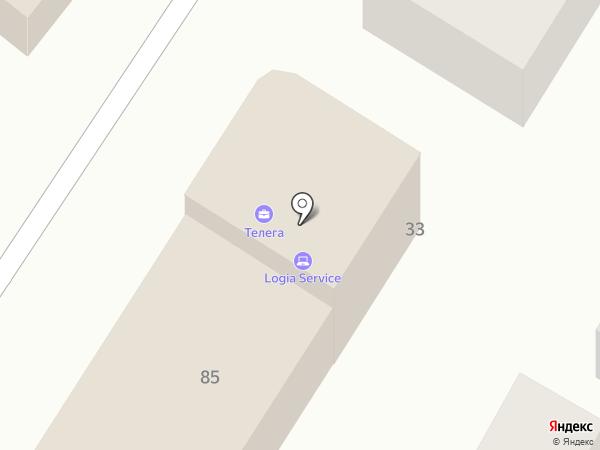 Информа на карте Армавира