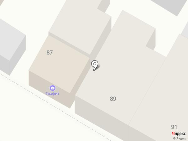 Графит на карте Армавира