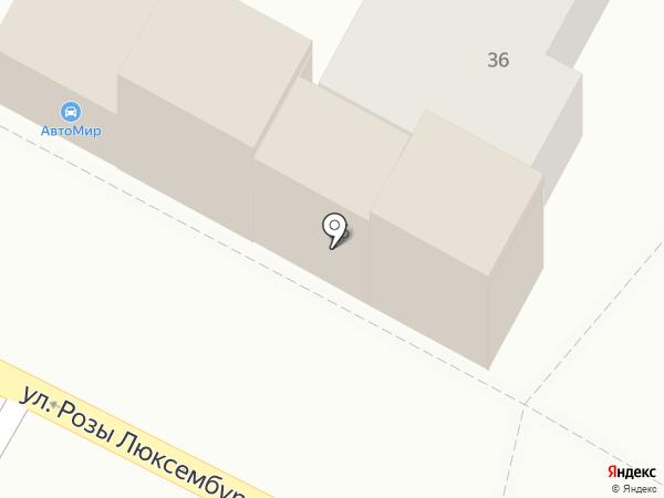 Автомир на карте Армавира