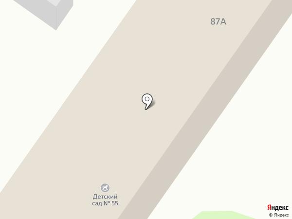 Детский сад №55 на карте Армавира