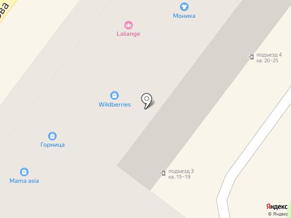 Bugatti на карте Армавира