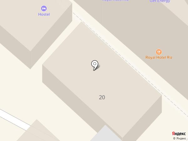 Линейный отдел ОВД на ст. Армавир на карте Армавира