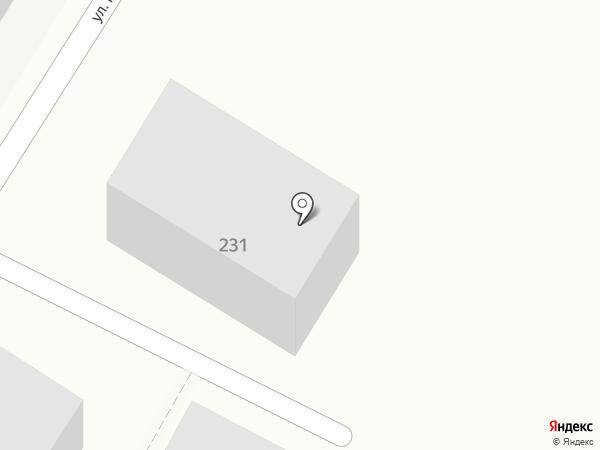 Гаражный кооператив №31 на карте Армавира